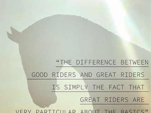 The Difference Between Good Riders and Great Riders