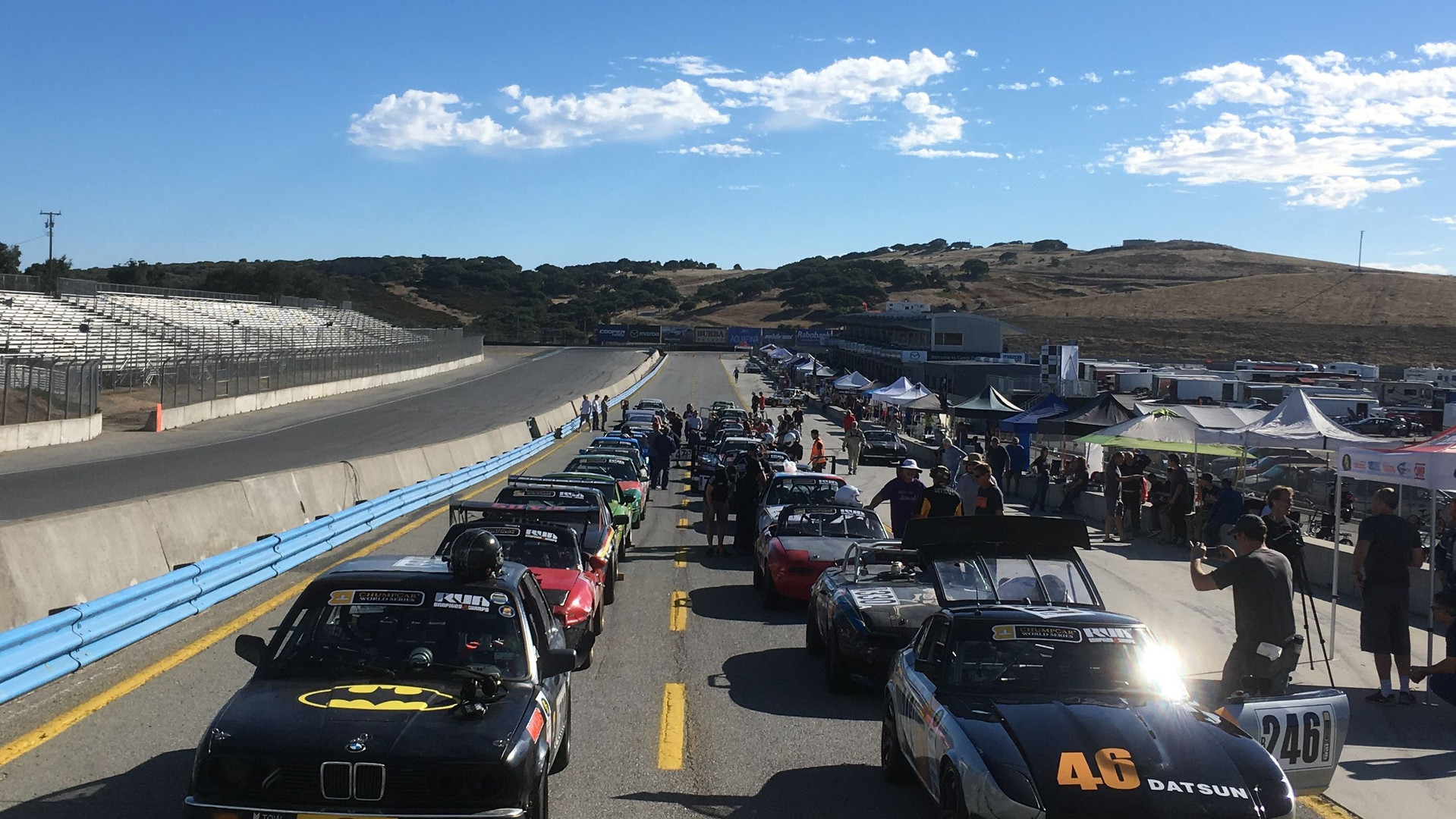 The Grid at Laguna Seca