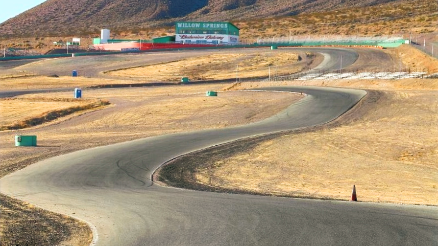 The sweepers at Monroe Ridge - Willow Springs Raceway