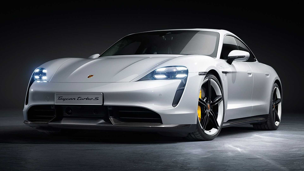 Porsche Tayan Turbo S electric car