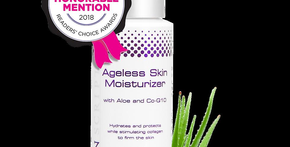 Skin Script Ageless Skin Moisturizer, with Aloe, CoQ10, 2 oz