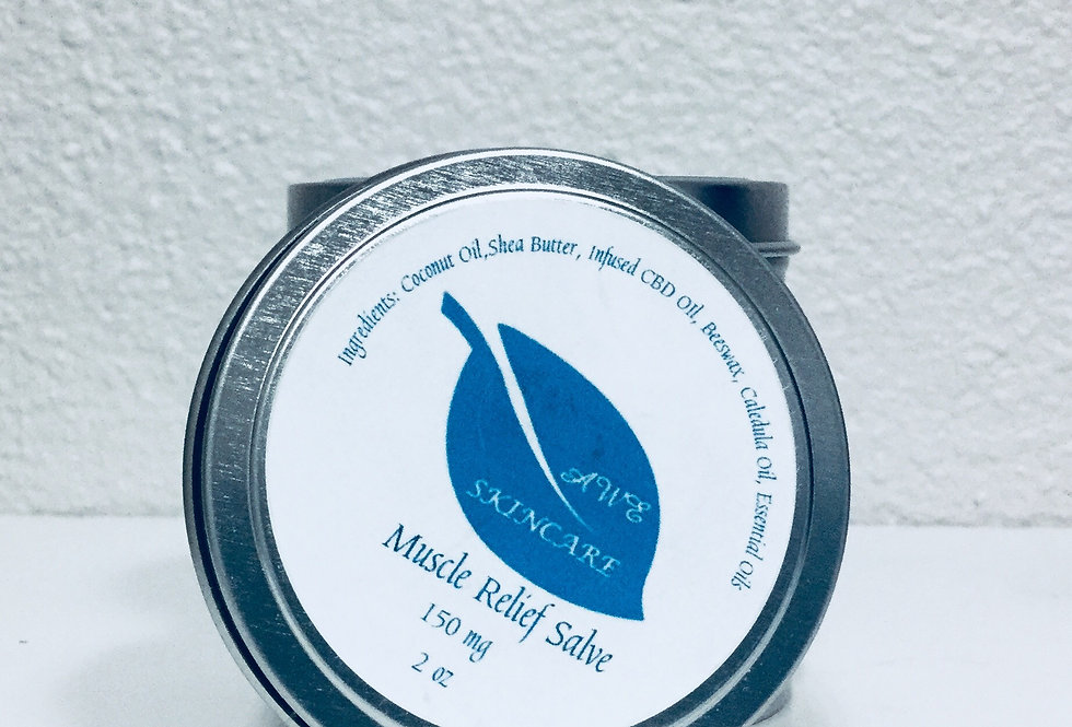 AWE Muscle Salve Infused with CBD 150mg 2oz