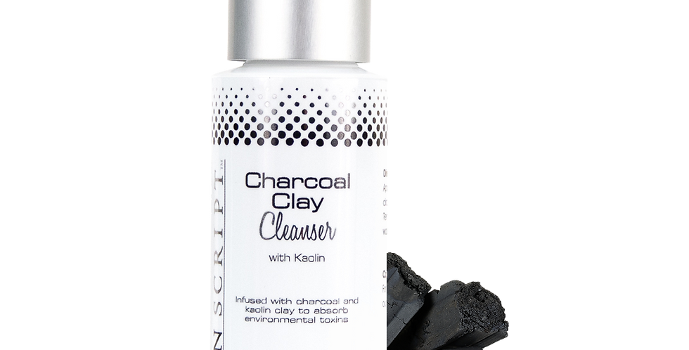 Skin Script Charcoal Clay Cleanser 2oz, 6.5 oz