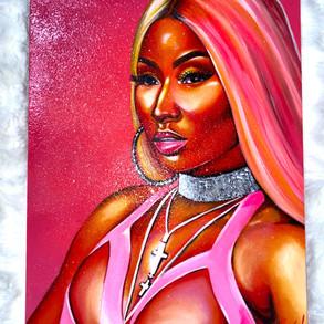 Nicki Minaj Custom Art
