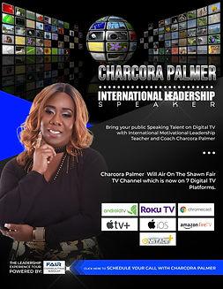 Charcora Palmer, International Leadership Speaker