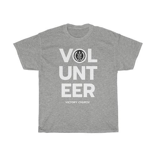 """""""Volunteer"""" Unisex Heavy Cotton Tee"""
