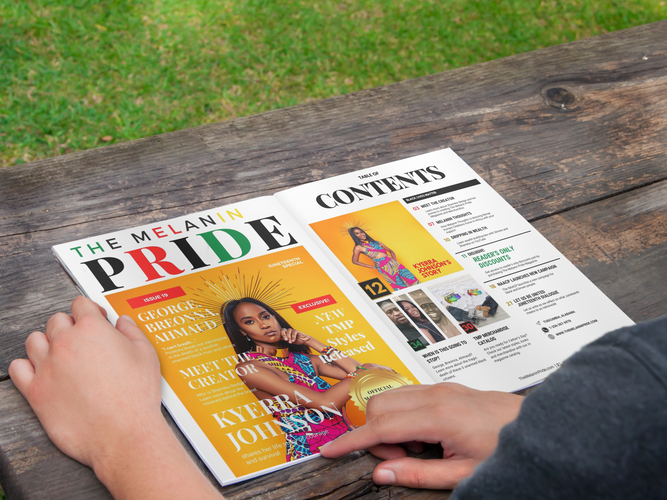 The Melanin Pride Magazine
