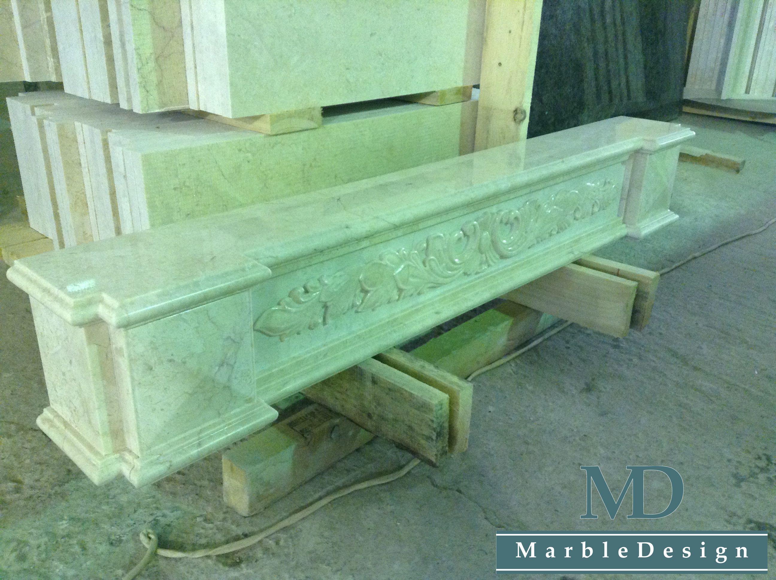Изготовление каминного портала