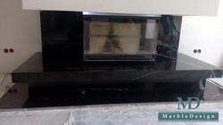 Камин с трехсторонним стеклом