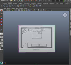 Room Blueprints With Outlines.