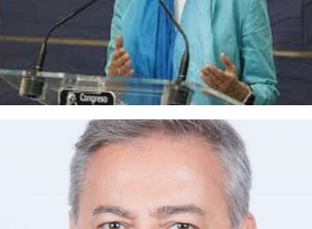 La Ministra de Defensa Margarita Robles visita Boadilla del Monte