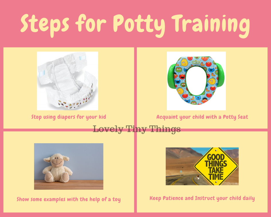 Steps for Potty Training a child