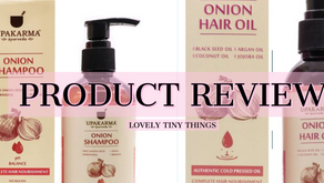 Product Review: Upakarma Onion Hair Oil and Shampoo