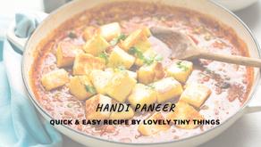 Recipe of Handi Paneer
