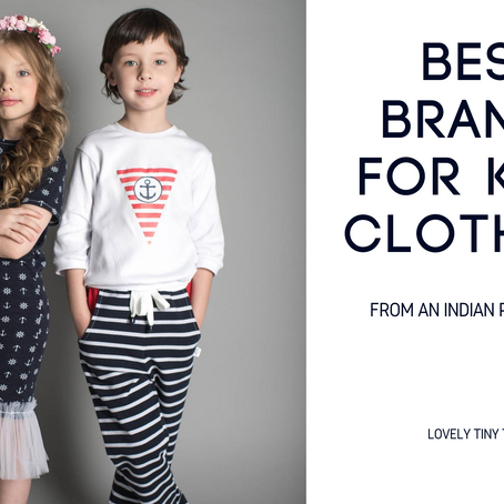 5 Best Kids Clothing Brands in India