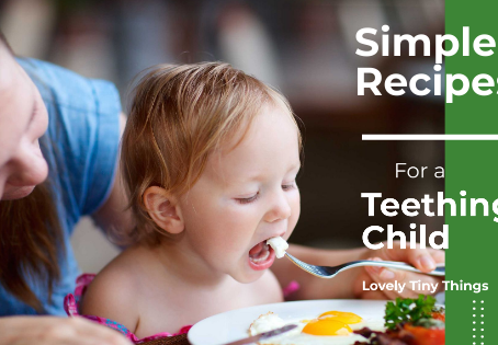 Simple recipes for a teething child