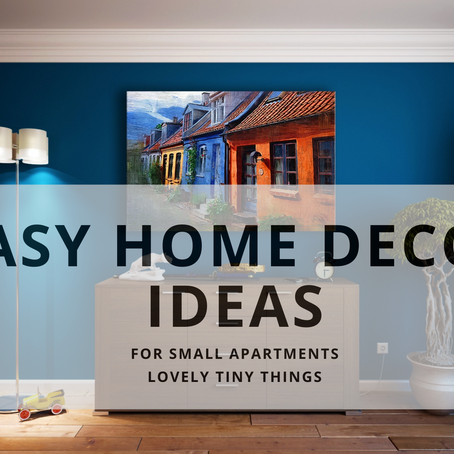 7 Easy Tips for Decorating Small Apartments