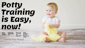 How to make Potty Training easy?