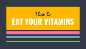 How to eat your vitamins in a healthy manner?