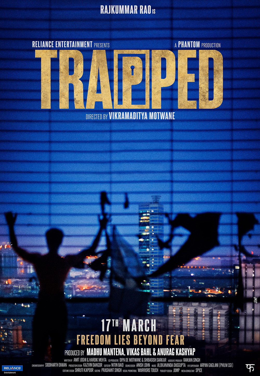 Trapped Movie Poster Starring Rajkumar Rao