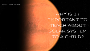 Importance of Teaching about Solar System to Children