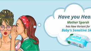 Sensitive baby wipes with No Perfume: Premium Baby Wipes Launched By Mother Sparsh
