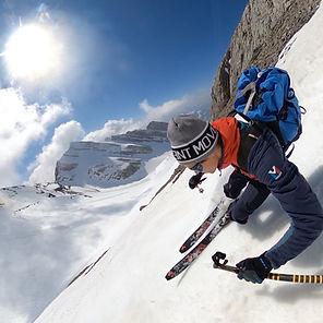 guide de montagne- annecy- ski de randon