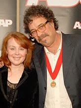 """Janie and Monty Holmes. Monty co-wrote """"Troubadour"""" which has become a career song for George Strait"""