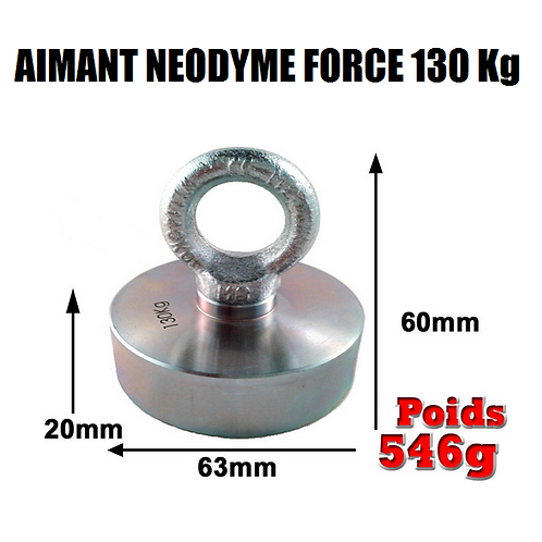 AIMANT 130 Kg