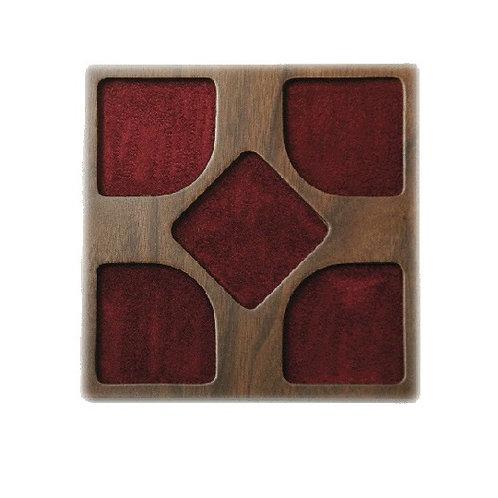 Plateau de 5 Cases carrées