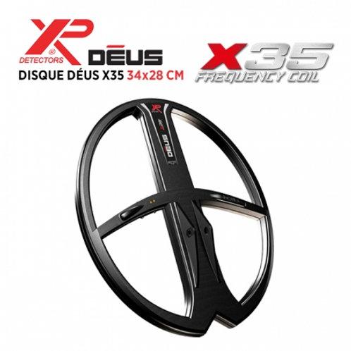 Disque X35 34x28 cm XP Deus