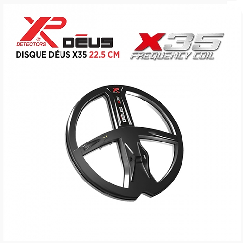 Disque X35 22.5 cm XP Deus