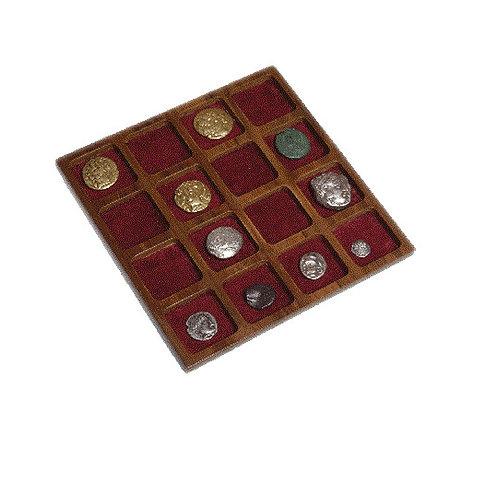 Plateau de 16 Cases carrées