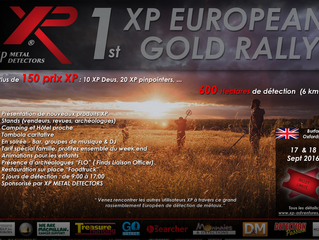 1er GOLD RALLY XP EUROPEEN du 17 ET 18 SEPT. 2016