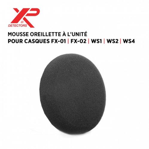 Mousse oreillette de casque FX01/FX02/WS1/WS2/WS3