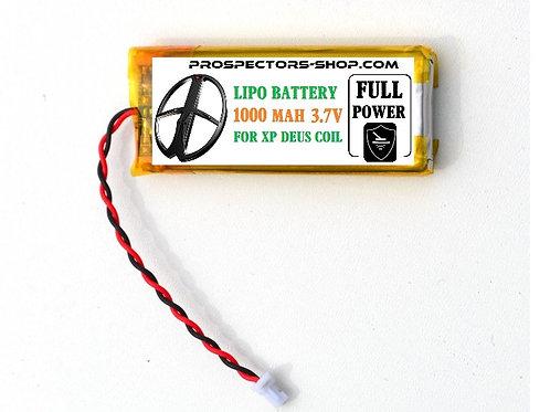 Batterie 1000 mah pour disques XP Deus