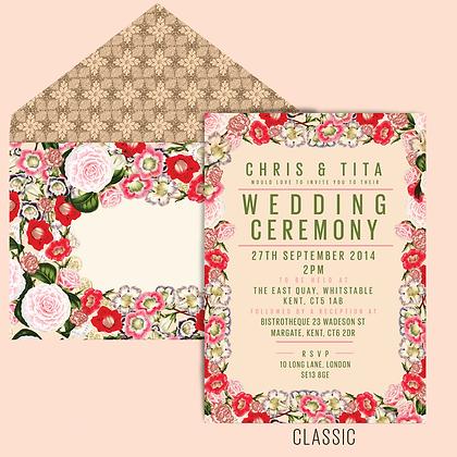 FLORA LUXURY INVITATION