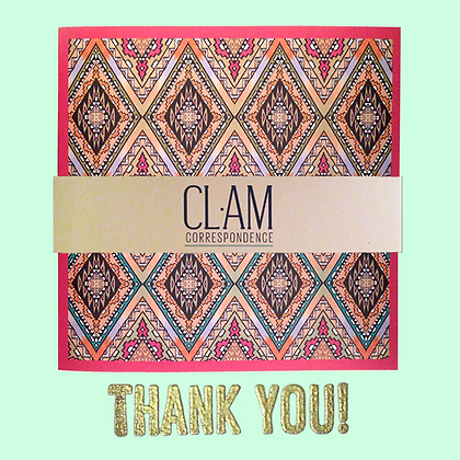 THANK YOU CARDS MIXED PACK of 5