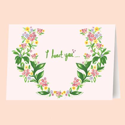 HEART YOU CARD