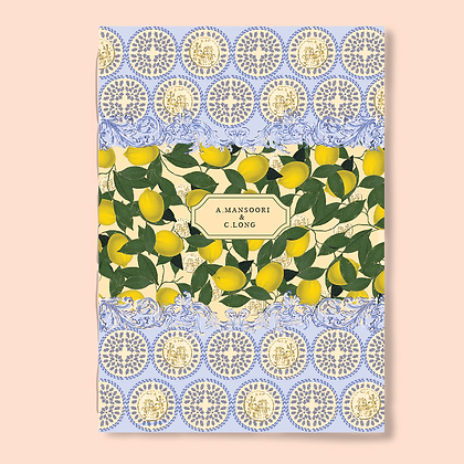 A5 LIMONE NOTEBOOK