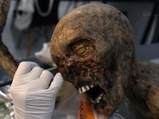 특수분장 리얼한 좀비 시체 제작기