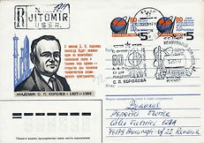 Soviet space pioneers and scientists covers