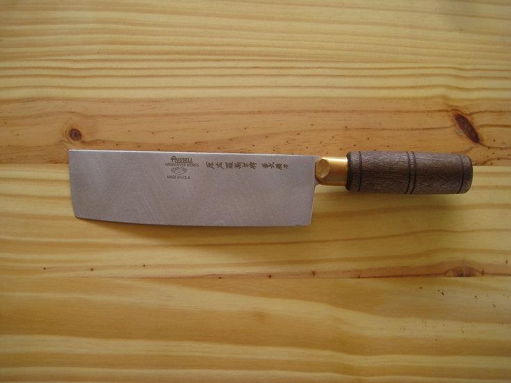 Chinese Chef's Knife - Walnut