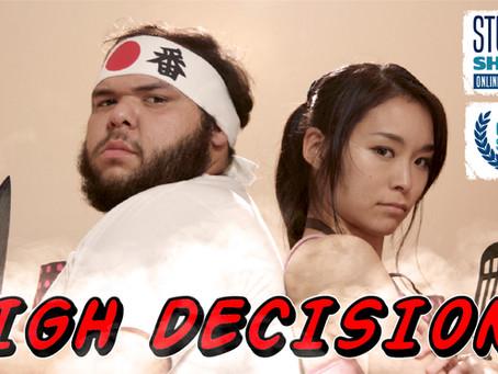 """High Decisions"" World Premiere @ Student Shorts Film Festival"