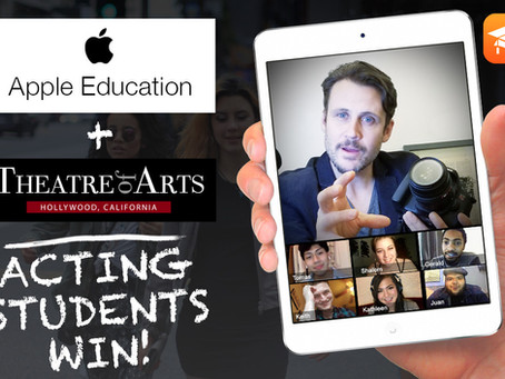 Theater of Arts Is An Apple Education School