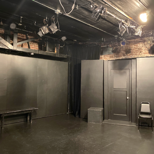 The Flight theatre classroom stage