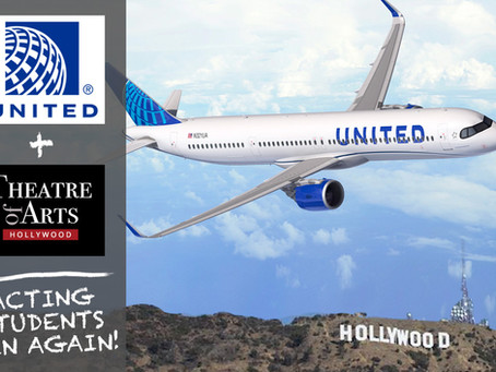 TOA & United Airlines Partner For Acting Students