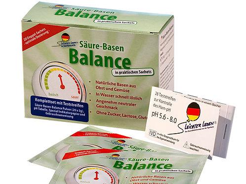 Kombipackung Säure-Basen Balance und Testreifen