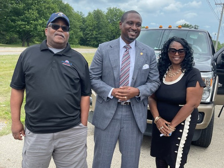 Representative West joins the rebirth of Rockford's Black Chamber of Commerce