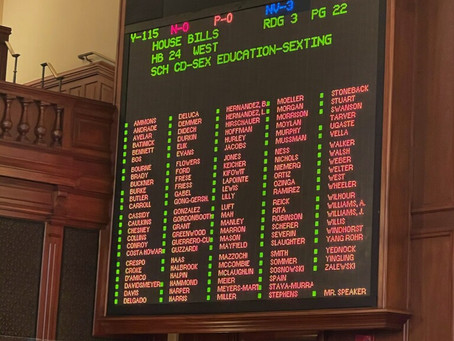 State Representative Maurice West expresses HB24 being passed.